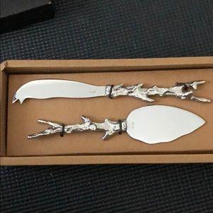 Michael Aram Cheese Knives